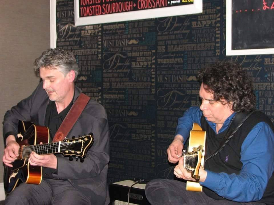 Performing with Howard Alden