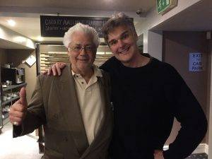 Darren and Larry Coryell in Wales